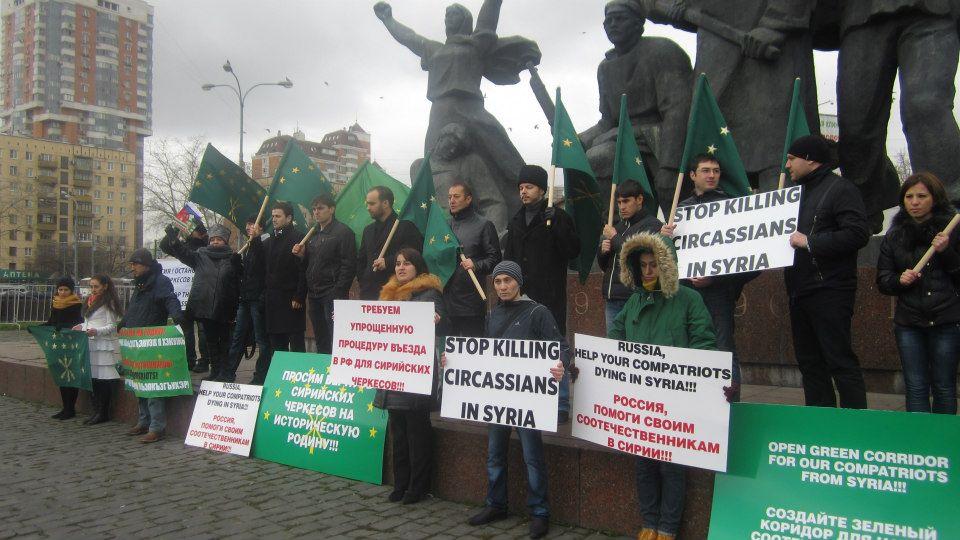Interview mit Larisa Khadipash – Aktivistin für die Aufnahme von Tscherkessen aus Syrien inRussland