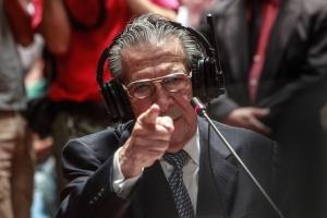 Ríos Montt beteuert in seiner Aussage seine Unschuld. Foto: Elena Hermosa/Flickr, CC By 2.0
