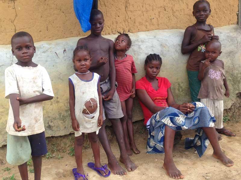 Die Waisenkinder vonWestafrika