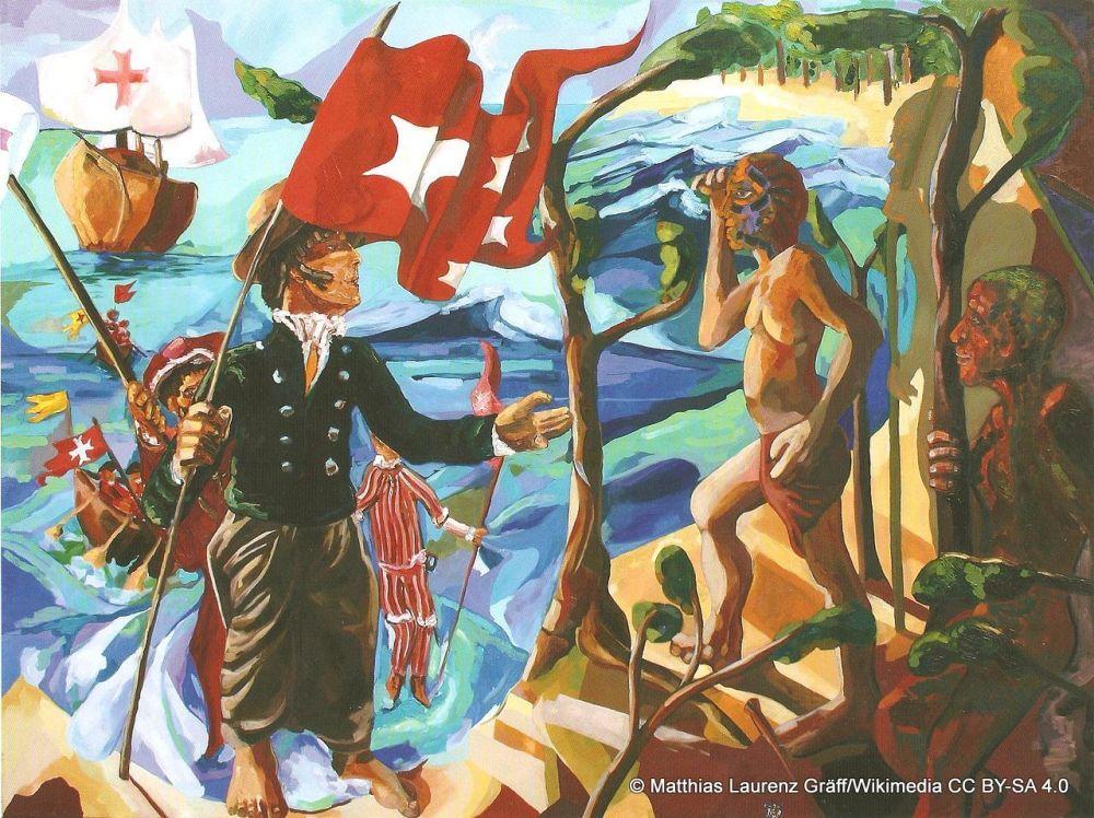 Das Ölgemälde von Matthias Laurenz Gräff hat den Titel