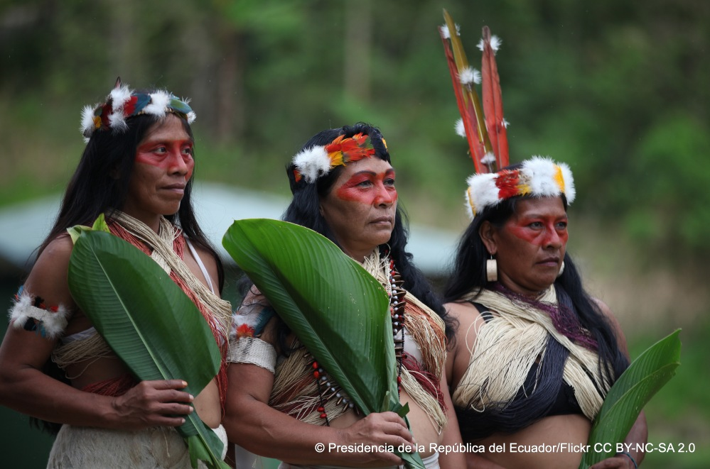 Die indigene Gemeinschaft der Waorani in Ecuador befürchtet, ihre Lebensgrundlage zu verlieren. In ihrer Region sollen Erdölförderungen statt finden. Umweltverschmutzung und Lebensraumverlust sind die Folgen.