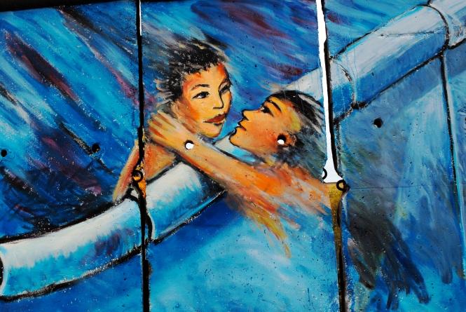 Kunst an der Westberliner Mauer