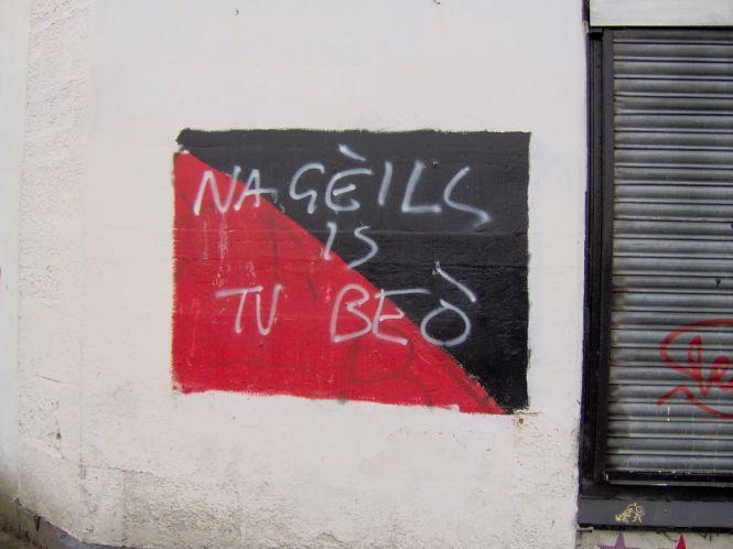 Gaelisches Graffiti