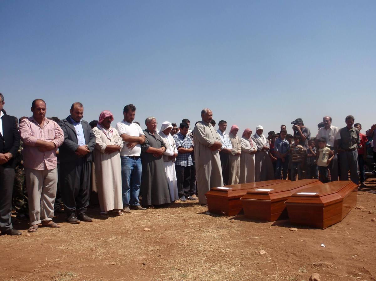 Eine ganze Welt nimmt Abschied: Die Beerdigung von AlanKurdi