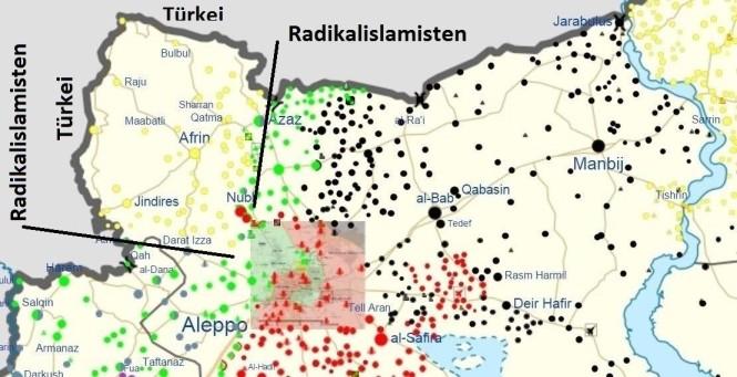 Karte_Syrien_Militäreinheiten