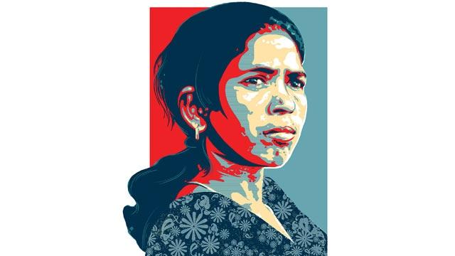 Indien: Eine Adivasi kämpft für die Rechte ihresVolkes