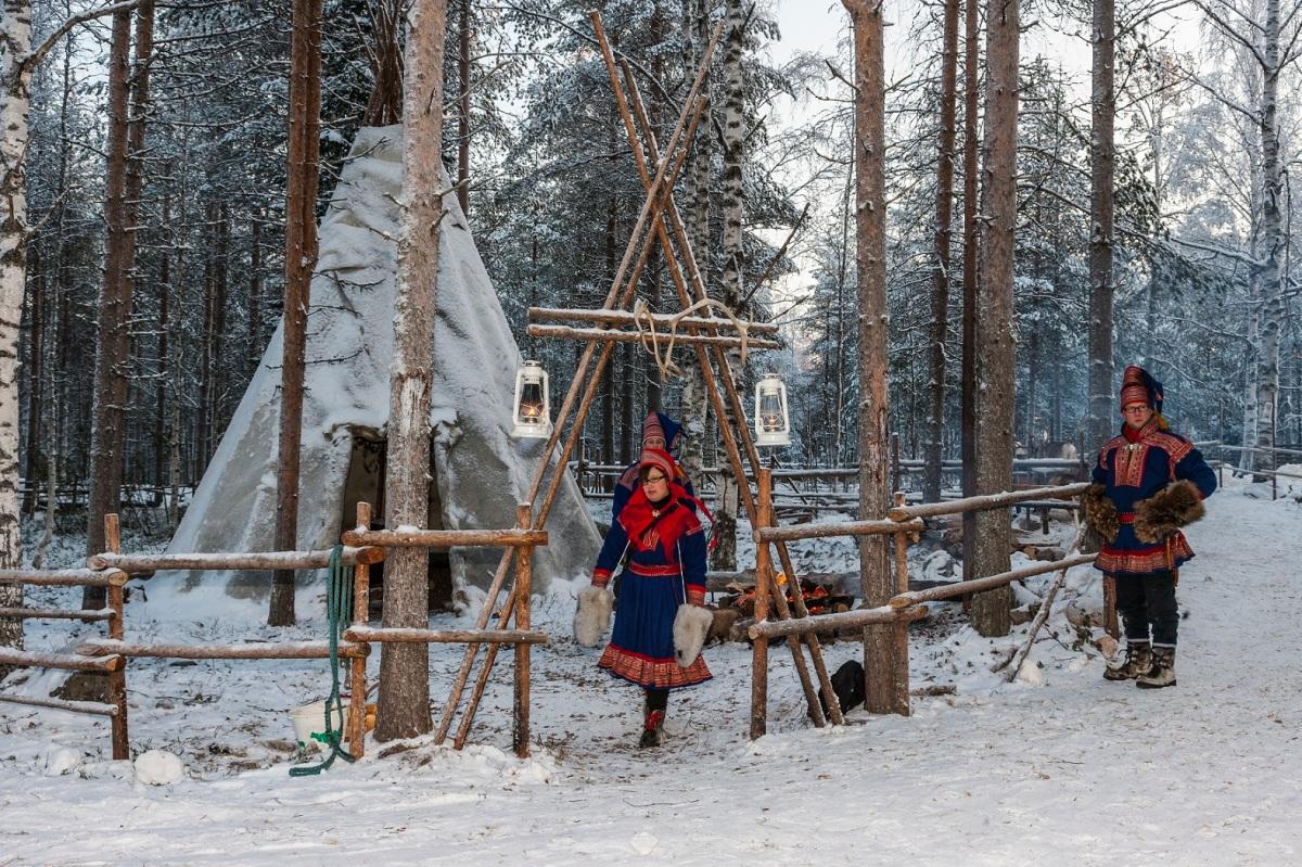 Eiszeit in Finnland