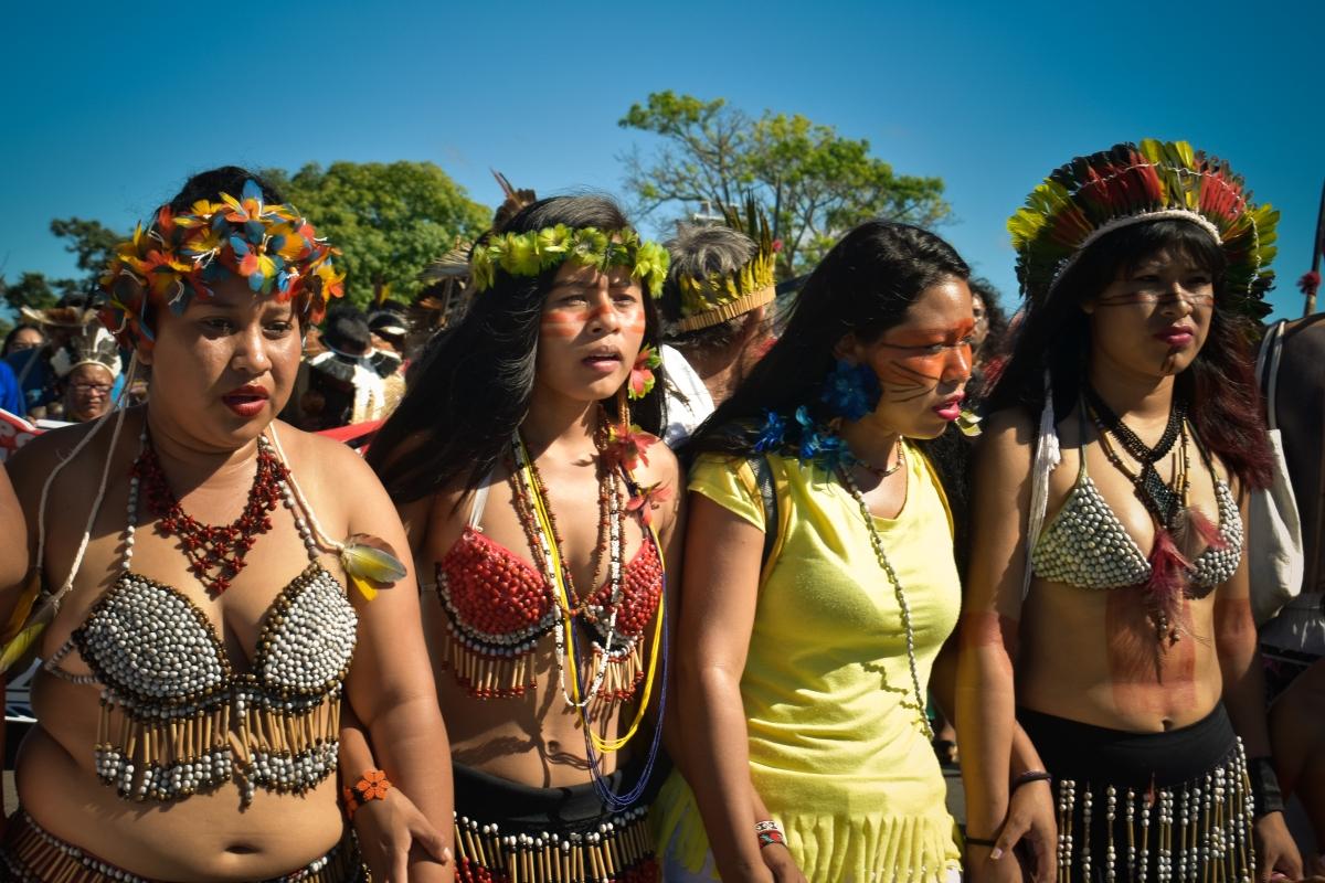 Indigene Menschenrechtsverteidigerinnen trotzenBedrohungen